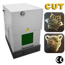 ماكينة علامة ليزر من الألياف آلة نحت بألوان من الفولاذ المقاوم للصدأ