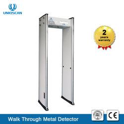 Ub500 Arch caminhada pelo detector de metal com madeira de alta densidade