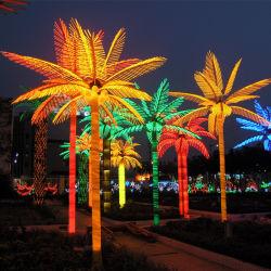 LED Árvore de Natal iluminado a luzes de árvores para fora levado a árvore de Natal
