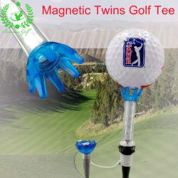 Accessoires de golf personnalisés Equitment Double jumeaux Tee de golf magnétique