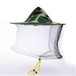 Le Camouflage de l'Apiculture Chapeau de pêche d'insectes moustiquaire de protection de l'Apiculture Apicultura matériau utilisé Hat