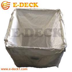 Lager-Metallfaltender Maschendraht-Materialtransport-Behälter-Speicher mit Plastiktasche