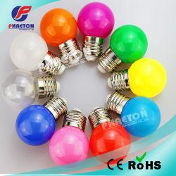 Color 1W 3W G45 Lâmpada LED, Férias de luzes de Natal