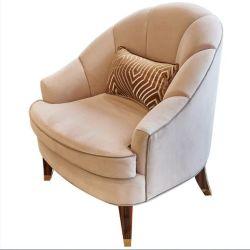 Qualitäts-kundenspezifisches Gewebe-hölzerne Sofa-Stühle für Verkauf