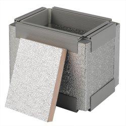 A China o painel de espuma fenólica Fabricantes de Material de isolamento térmico do painel de Isolamento