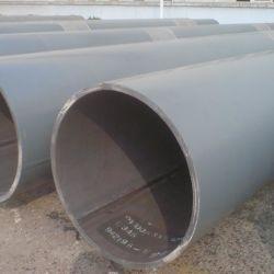 Tubo saldato LSAW con saldatura diritta Q195, diametro grande, acciaio al carbonio Tubi della tubazione dell'acqua