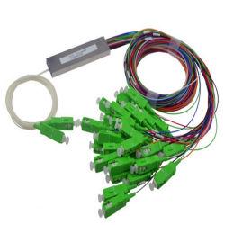 Largement utilisé optique 2*64 Séparateur PLC