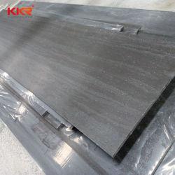 Los paneles de pared de 8mm de la vena de textura de piedra de mármol comercio al por mayor superficie sólida la decoración del hogar del Panel de ducha de piedra
