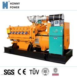 Cchp la chaleur et électricité génératrice de biogaz 1000KW