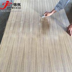 ISO 9001: 2008 Китай Экспорт EV тик Indea рынка природного из тикового дерева, Среднего Востока шпона, с которыми сталкиваются фанера MDF