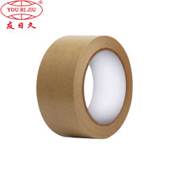 Papel Kraft reforzado con fibra de alta calidad con una cinta de goma