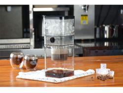 높은 붕규산염 500ml 유리제 커피 Dripper 찬 양조주 커피 메이커