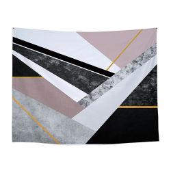 Des dessins géométriques tapisserie de Wall Hanging Chiffon de table