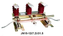 Jn15-12 (7.2) /31.5 Piscina Exterior do interruptor de massa de alta tensão para venda