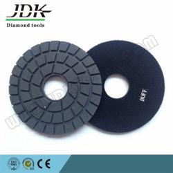 Noir et blanc chamois de polissage des plaquettes pour le meulage de granit