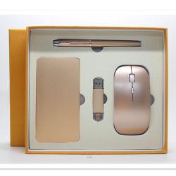 Bon marché de gros cadeaux d'entreprise de banque d'alimentation disque Flash USB de plumes et Jeux de la souris pour les articles promotionnels