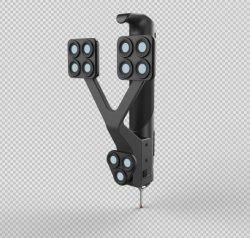 Hohe Genauigkeits-Qualitätseinfacher schneller intelligenter aufspürender industrieller Grad-Multifunktionsscanner 3D