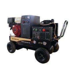 Compresseur à air de l'essence 5kVA Groupe électrogène de soudage Multi Fonction