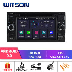 Auto DVD des Witson acht Kernandroid-9.0 für Ford Focus 4G Touch Screen 32GB ROM-1080P Bildschirm ROM-IPS