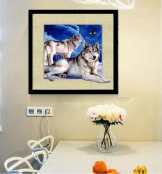 Suministro de fábrica en stock en 3D/5D de la imagen de los animales para la pared cuelgan