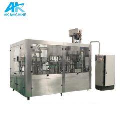 Pequeno Vidro Automático de garrafa pet pode cerveja da linha de produção ao engarrafamento facilitando o enchimento e o Nivelamento da Máquina da fábrica