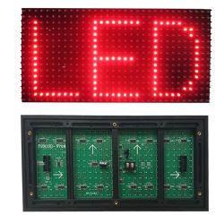 Дешевые цены P10 для использования вне помещений один цвет светодиодного дисплея модуля P10 1r светодиодный модуль дисплея