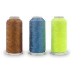 100 % et les sacs de vêtements à haute ténacité tissée de fils à coudre en polyester