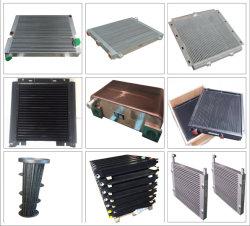 Fabricant de l'air du refroidisseur d'air du refroidisseur d'huile du compresseur sans radiateur d'eau