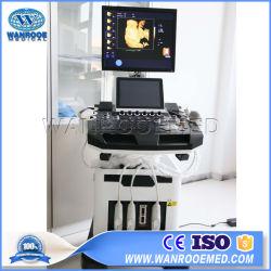 L'USC900 Hospital Medical 4D Portable de Diagnostic de l'ultrasonographie Doppler couleur sonde thérapie chariot du scanner à ultrasons