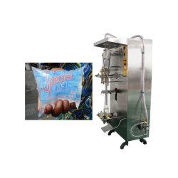 満ちるジュースのミルクの酢の日本酒のための自動500ml水磨き粉のパッキング機械Bagging機械