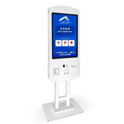 Supermarkt Geschäft Zahlung Kiosk Self Service Android LCD-Bildschirm Bestellung Maschine mit Drucker