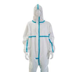 Factory Direct Selling Disposable Protective Clothes Isolation Suit Whitelist Enterprise Persoonlijke bescherming Medische Levering Factory directe verkoop