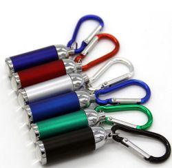Индикатор мини цепочки ключей Свет фонарика Zoom подарок Складной алюминиевый корпус фонарика для установки вне помещений