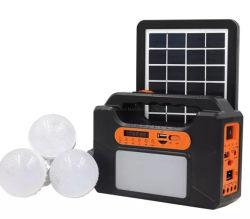 نظام الطاقة الشمسية المحمولة نظام الطاقة الشمسية مع الطاقة الشمسية اللاسلكية مكبر الصوت