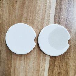 Placa de baixo preço por grosso de cerâmica impresso Personalizado Coasters Carro Coasters
