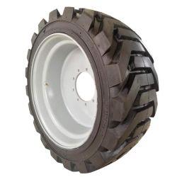 PU-Schaumstoffgefüllter Reifen für JLG, Genie, Skyjack, Schnorchel, Haulotte Schaumstofffüller mit Ausleger-Hebereifen Radbaugruppe (355/55D625 385/65D22.5 445/65D22.5 385/65D19.5)