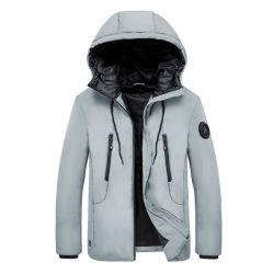 궤도 스포츠 재킷을 하이킹하는 고품질 겨울 격렬한 방풍 방수 직물