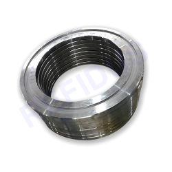 Guidadora de acero inoxidable mecanizada CNC de precisión personalizada