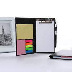 オフィスのペンのメモのブックマークのペーパーステッカーのメモ帳が付いている粘着性があるノートのノート