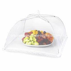 Protección de la tapa de alimentos Alimentos Nylon blanco cubrir Net para tipos de alimentos
