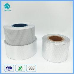흰색 코팅된 은빛 로고 내부 라이너 포장지(담배) 패키지