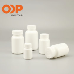 Белый цвет PE HDPE PP ПЛАСТМАССОВЫХ ПЭТ желтые твердых таблетки бачок Healthcare дополнение контейнер с Withscrew