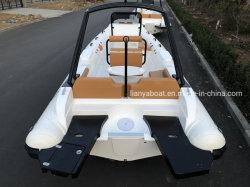 Liya 22FT 150HP Power Barco barco patrulha insufláveis