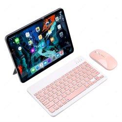 Mini tastiera wireless tastiera Bluetooth per iPad Phone Tablet russo Tastiera Spainish per Android iOS Huawei Samsung Xiaomi