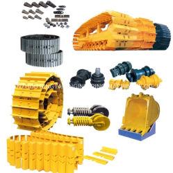 Venda por grosso de fábrica na China via link ou equipamento para todos os links de máquina de escavadeira Rolo transportador intermediário peças do material rodante da Roda Dentada