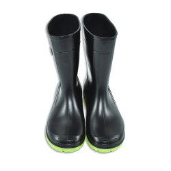 Calçado macio crianças chuva de PVC Sapatas Bootd
