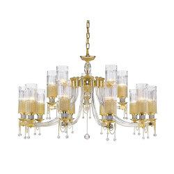 Il lampadario a bracci moderno LED decorativo di lusso illumina la lampada di rame di cristallo del salone degli indicatori luminosi del pendente dei lampadari a bracci