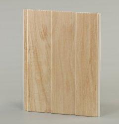 El suministro de la fábrica de diseños de madera Panel del techo de PVC Techo alargada Film para uso interior. El ancho es de 1,5 a 5 metros