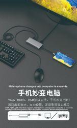 USB schreiben c-Nabe 8 in 1 USB-Naben-multi Funktions-Adapter für MacBook Pro und schreiben Laptope c-Windows