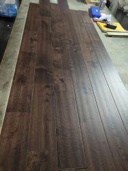 Chestnut semelhante ao preço mas Carvalho mais barata de Oak Handscrapped Anti-Scracth Saw-Mark piso de madeira